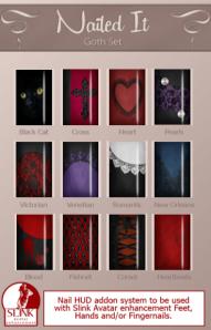 Nailed It ~ Goth Nail Hud