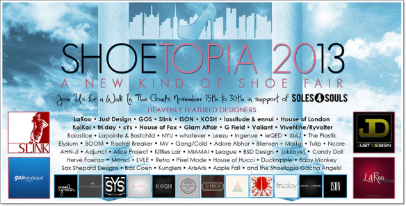 SHOETOPIA 2013 Poster_Final Line-Up 11_10