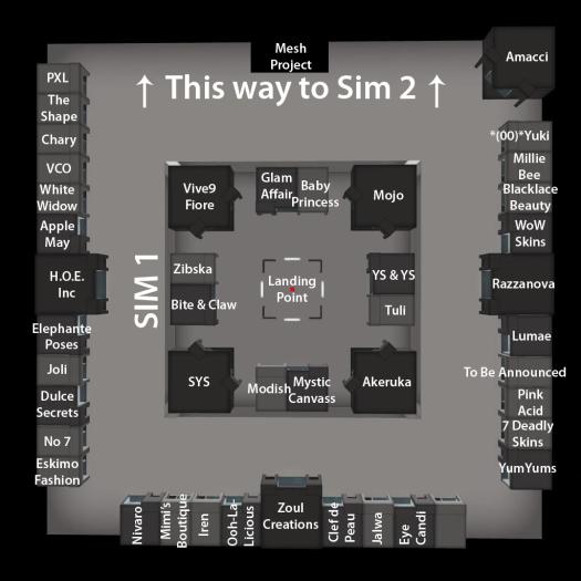 The Skin Fair 2014 - Map - Sim 1 copy