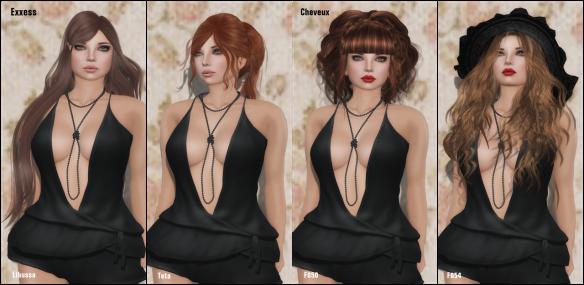 Exxess & Cheveux 2014 Hair Fair ~
