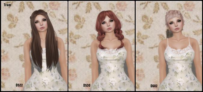Tram D522, D530, D602 2014 Hair Fair