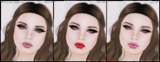[PXL] Creations Shara Carnival PA Makeup 1, 2, 3,1